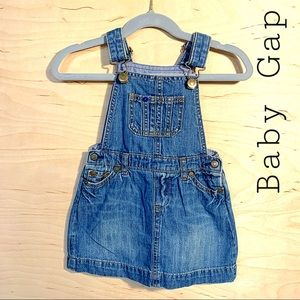 Vintage Baby Gap Overall Dress